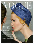 Vogue Cover - April 1959 Premium Giclee Print by Richard Rutledge