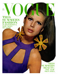 Vogue Cover - May 1966 Premium Giclee Print by Bert Stern