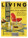 Living for Young Homemakers Cover - July 1959 Premium Giclee Print by Bruce Pendelton