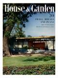 House & Garden Cover - August 1951 Regular Giclee Print by Ernest Braun