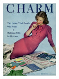 Charm Cover - October 1944 Premium Giclee Print by Michael Elliot
