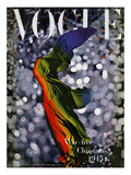Vogue Cover - December 1945 Regular Giclee Print by Erwin Blumenfeld