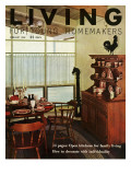 Living for Young Homemakers Cover - February 1958 Premium Giclee Print by Ernest Silva