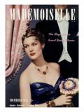 Mademoiselle Cover - November 1938 Regular Giclee Print by Paul D'Ome