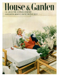 House & Garden Cover - June 1951 Regular Giclee Print by Richard Rutledge
