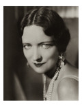 Vanity Fair - January 1932 Premium Photographic Print by Florence Vandamm