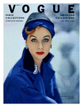 Vogue Cover - September 1952 Premium Giclee Print by Roger Prigent