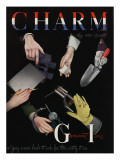 Charm Cover - May 1945 Premium Giclee Print by  Karger-Pix