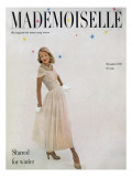Mademoiselle Cover - November 1947 Regular Giclee Print by Mark Shaw