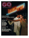 GQ Cover - December 1975 Premium Giclee Print by Chris Von Wangenheim