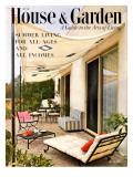 House & Garden Cover - June 1953 Regular Giclee Print by Julius Shulman