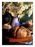 Gourmet Cover - March 1994 Regular Giclee Print by Romulo Yanes