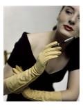 Glamour - November 1946 Regular Photographic Print by Serge Balkin