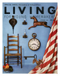 Living for Young Homemakers Cover - September 1958 Premium Giclee Print by Bill Margerin