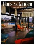 House & Garden Cover - April 1954 Regular Giclee Print by Julius Shulman