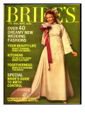 Brides Cover - August 1968 Premium Giclee Print by Rik Van Glintenkamp