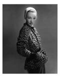 Vogue - December 1949 Regular Photographic Print by Erwin Blumenfeld