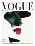 Vogue Cover - May 1945 - In the Shade Regular Giclee Print by Erwin Blumenfeld