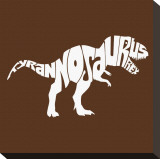 Tyranosaurus Rex Stretched Canvas Print