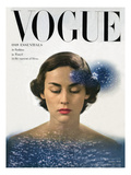 Vogue Cover - January 1948 Regular Giclee Print by Herbert Matter