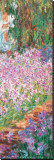 Garden (detail) Leinwand von Claude Monet