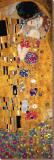 Der Kuss (Ausschnitt) Leinwand von Gustav Klimt
