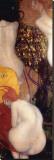Złote rybki Płótno naciągnięte na blejtram - reprodukcja autor Gustav Klimt