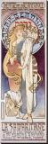La Samaritaine Stretched Canvas Print by Alphonse Mucha