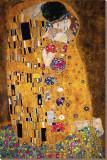 Le Baiser, vers 1907, détail Reproduction sur toile tendue par Gustav Klimt