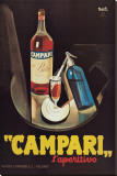 Campari l'Aperitivo Stretched Canvas Print