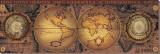 Orbis Geographica II Reproduction transférée sur toile