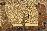L'arbre de vie, 1909, fresque du Palais Stoclet Reproduction transférée sur toile par Gustav Klimt