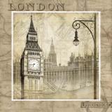 London ruft Poster von Keith Mallett