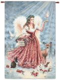 Christmas Angel Wall Tapestry