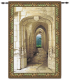 Garden Archway Wall Tapestry
