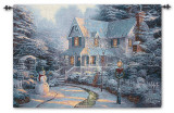 The Night Before Wall Tapestry by Thomas Kinkade