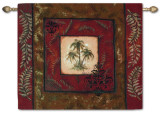 Palm Breeze Wall Tapestry