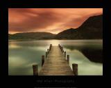Ullswater, Glenridding, Cumbria Kunst af Mel Allen