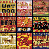 American Cuisine Prints by Mark Andrew Allen