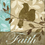 Faith Prints by Keith Mallett