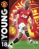 Manchester United-Young 2011-2012 Poster