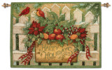 Happy Holiday Wall Tapestry