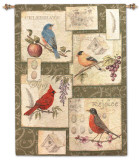 Clough-Songbirds Wall Tapestry