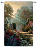 Garden of Grace Tapiz por Thomas Kinkade