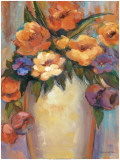 Les Fleurs Prints by Dawna Barton