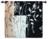 African Leaf Abstract Wall Tapestry