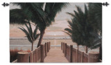 Palm Promenade Wall Tapestry