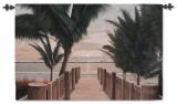 Palm Promenade Wall Tapestry