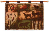 Lodge Collage Wall Tapestry