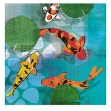 Lucky Koi II Prints by Tandi Venter